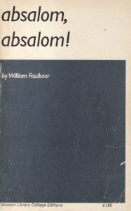 Absalom! Absalom! (Modern Library) - William Faulkner