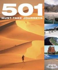 501 Must Take Journeys - David Brown, Arthur Findlay, Jackum Brown
