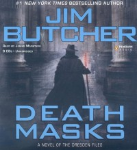 Death Masks  - Jim Butcher, James Marsters