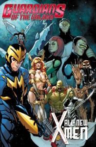 Guardians of the Galaxy/All-New X-Men: The Trial of Jean Grey - Brian Michael Bendis, Stuart Immonen