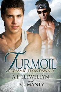 Turmoil (Orgasmic Texas Dawn #9) - A.J. Llewellyn & D.J. Manly