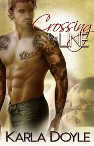 Crossing the Line - Karla Doyle
