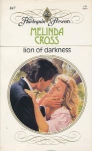 Lion Of Darkness (Harlequin Presents, No 847) - Melinda Cross