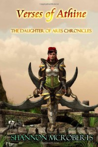 Verses of Athine: The Daughter of Ares Chronicles Collection - Shannon McRoberts