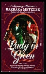 Lady in Green - Barbara Metzger, Barbara Metzer
