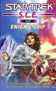 Enigma Ship (Star Trek S.C.E., #20) - J. Steven York, Christina F. York