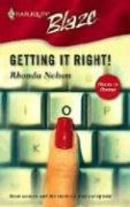Getting It Right! - Rhonda Nelson