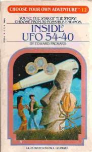 Inside UFO 54-40 - Edward Packard