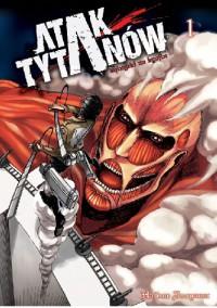 Atak Tytanów tom 01 - Isayama Hajime