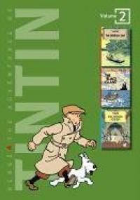 The Adventures of Tintin, Vol. 2: The Broken Ear / The Black Island / King Ottokar's Sceptre - Hergé, Michael Turner, Leslie Lonsdale-Cooper