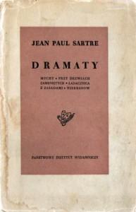 Dramaty: Muchy. Przy drzwiach zamkniętych. Ladacznica z zasadami. Niekrasow - Jean-Paul Sartre