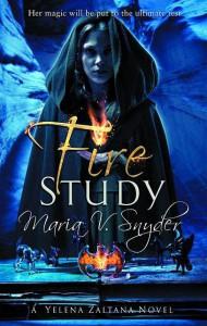 Fire Study (Study, #3) - Maria V. Snyder