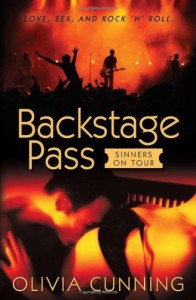 Backstage Pass: Sinners on Tour (The Sinners on Tour) [Paperback] - Olivia Cunning