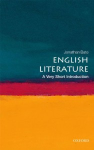 English Literature: A Very Short Introduction - Jonathan Bate