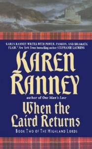 When the Laird Returns (Highland Lords, #2) - Karen Ranney