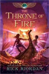The Throne of Fire (Kane Chronicles, #2) - Rick Riordan