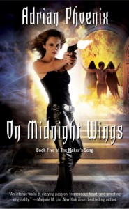 On Midnight Wings (The Maker's Song, #5) - Adrian Phoenix