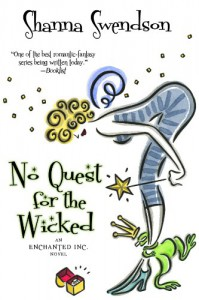 No Quest For The Wicked - Shanna Swendson