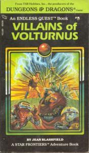 Villains of Volturnus - Jean Blashfield