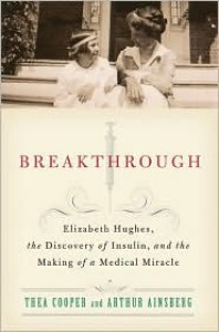 Breakthrough: Elizabeth Hughes, the Discovery of Insulin, and the Making of a Medical Miracle - Thea Cooper, Arthur Ainsberg