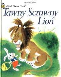 Tawny Scrawny Lion (Little Golden Book) - Kathryn Jackson