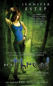 By a Thread (Elemental Assassin #6) - Jennifer Estep