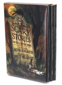 Scary Stories Box Set: Scary Stories, More Scary Stories, and Scary Stories 3 - Alvin Schwartz