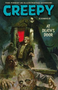 Creepy Comics Volume 2: At Death's Door - Jeff Parker, David Lapham, Joe R. Lansdale, Dan Braun, Rich Geary, Christopher A. Taylor, Emily Carroll, Doug Moench, Timothy Truman, Ben Truman, Peter Bagge, Doselle Young