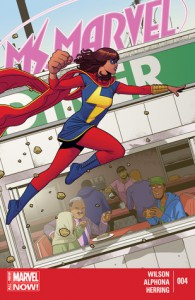 Ms. Marvel, #4: Past Curfew - G. Willow Wilson, Adrian Alphona
