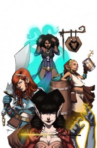 Rat Queens #1 - Kurtis J. Wiebe, Roc Upchurch