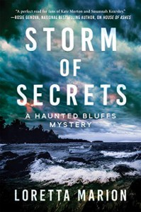 Storm of Secrets (Haunted Bluffs Mystery #2) - Loretta Marion