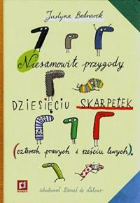 Niesamowite przygody dziesięciu skarpetek - Daniel de Latour, Justyna Bednarek