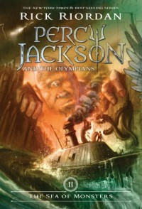 By Rick RiordanThe Sea of Monsters (Percy Jackson and the Olympians, Book 2)[Paperback] - Rick Riordan