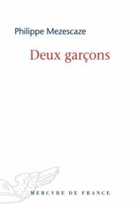 Deux garçons - Philippe Mezescaze