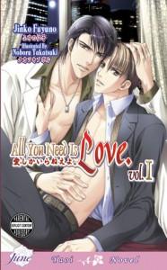 All You Need Is Love, Volume 1 - Jinko Fuyuno, Noboru Takatsuki, Karen McGillicuddy