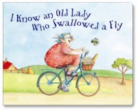 I Know An Old Lady Mini Book - Claudia Rueda