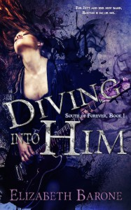 Diving Into Him - Elizabeth Barone