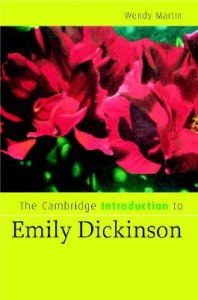 The Cambridge Introduction to Emily Dickinson - Wendy Martin