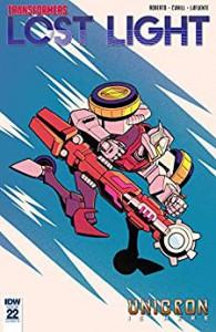 Transformers: Lost Light #22 - Brendan Cahill, James Lamar Roberts