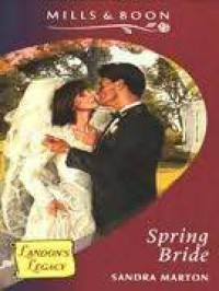 Spring Bride - Sandra Marton