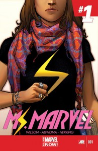 Ms. Marvel #1  -   G. Willow Wilson,  Adrian Alphona
