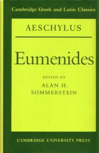 Eumenides - Aeschylus, Alan H. Sommerstein