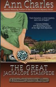 The Great Jackalope Stampede (Jackrabbit Junction Mystery Series #3) - Ann Charles