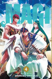 Magi: The Labyrinth of Magic, Vol. 4 - Ohtaka Shinobu