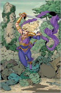Sword of Sorcery, Vol. 1: Amethyst - Christy Marx, Aaron Lopresti, Various