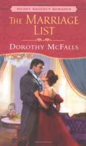 The Marriage List (Signet Regency Romance) - Dorothy McFalls
