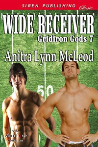 Wide Receiver (Gridiron Gods, #7) - Anitra Lynn McLeod