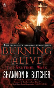 Burning Alive - Shannon K. Butcher