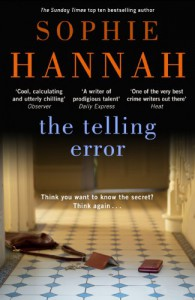 The Telling Error - Sophie Hannah