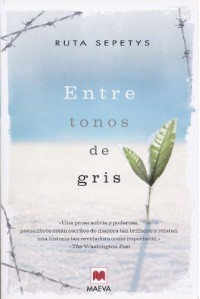 Entre tonos de gris - Ruta Sepetys, Isabel González-Gallarza